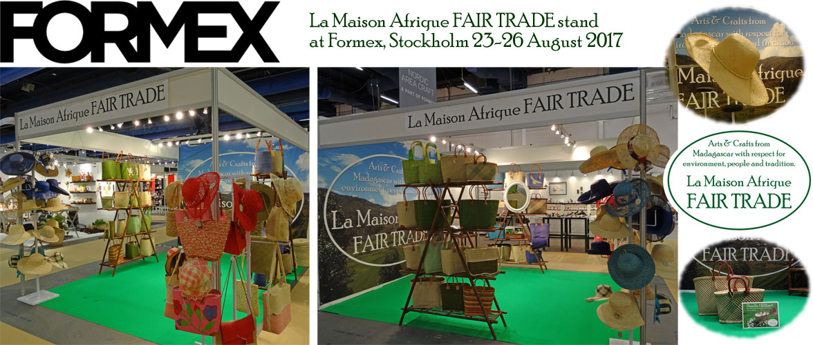 Formex exhibitor august 2017 La Maison Afrique FAIRTRADE
