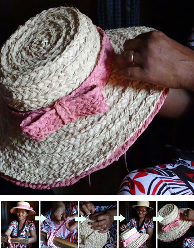 Hat and hatmaker artisan Madame Mariette
