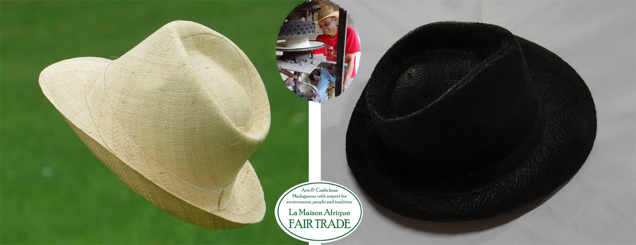 Men's hat homme le grand la maison afrique fairtrade