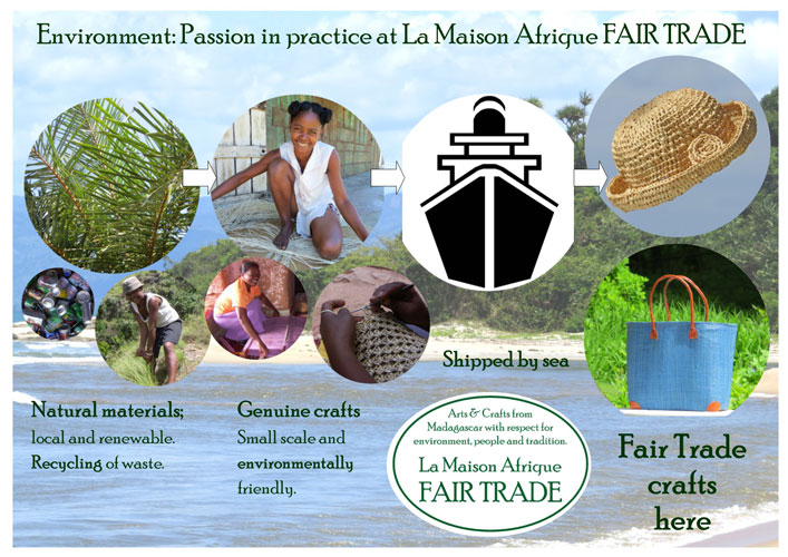 environmental care at la maison afrique fairtrade